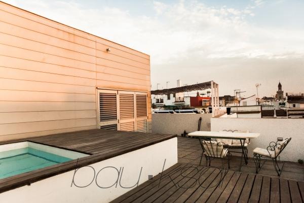 Alquiler de temporada atico con piscina sevilla - Piscina terraza atico ...