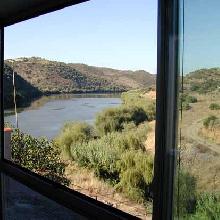 Vistas al río desde el salón