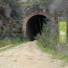 Tunel, via verde.