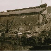 Antiguo cargadero de mineral Puerto de la Laja. Foto Antigua
