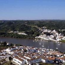 Sánlucar de Guadiana (España) - Alcoutim (Portugal)