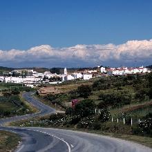 El Granado, viniendo desde Sanlucar del Guadiana