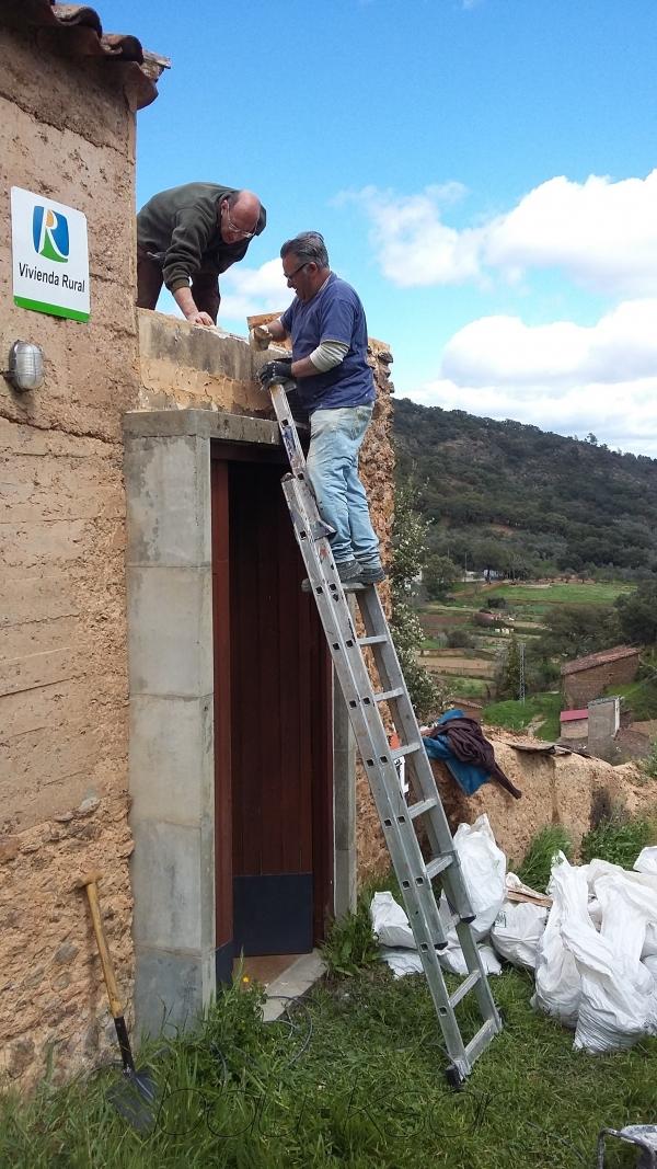 El risco del Lomero, Valdelarco Gîte dans Valdelarco. Sierra de Aracena. Espagne