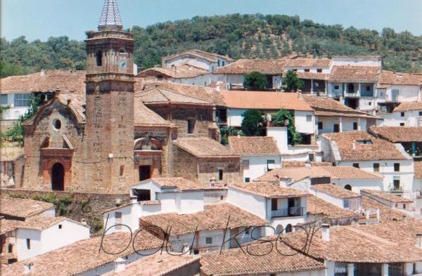 El risco del Lomero, Valdelarco Casas Valdelarco. Sierra de Aracena. Huelva. España