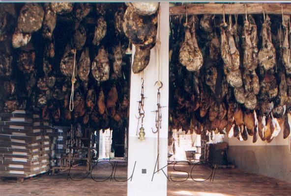 El risco del Lomero, Valdelarco Valdelarco. Aracena Montain. Huelva. Spain