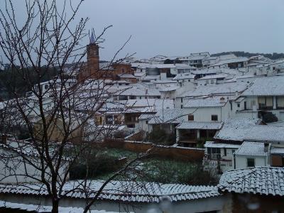 Nieve en Valdelarco