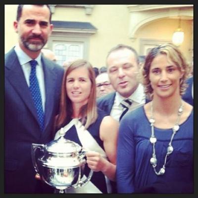 Marina Alabau best Spanish athlete award 2012.